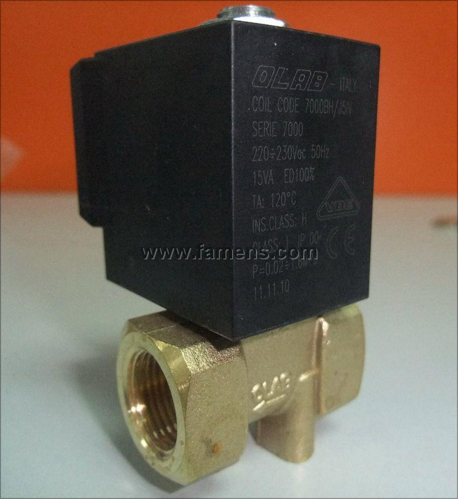 意大利OLAB模温机专用电磁阀