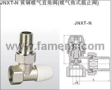 埃美柯閥門黃銅暖氣直角閥(暖氣角式截止閥)337 337A