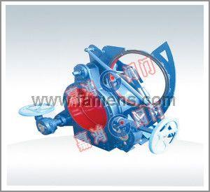 蜗轮式盲板阀F3L43C