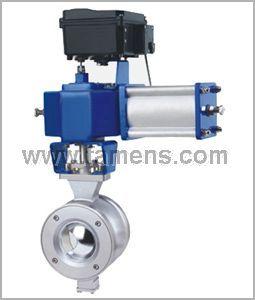ZSS/HV气动V型调节球阀