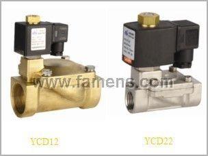 YCD12/YCD22二位二通先导膜片式电磁阀
