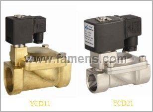 YCD11二位二通先导膜片式电磁阀