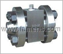 Q61F-320高压对焊球阀
