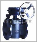 四氟卡套旋塞阀X43F46|弹性座封偏心旋塞阀|旋塞阀厂家
