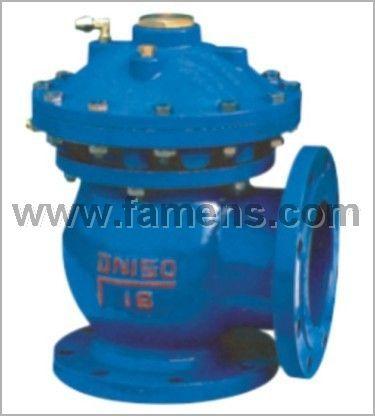 JM744X、JM644X膜片式液压、气动快开排泥阀