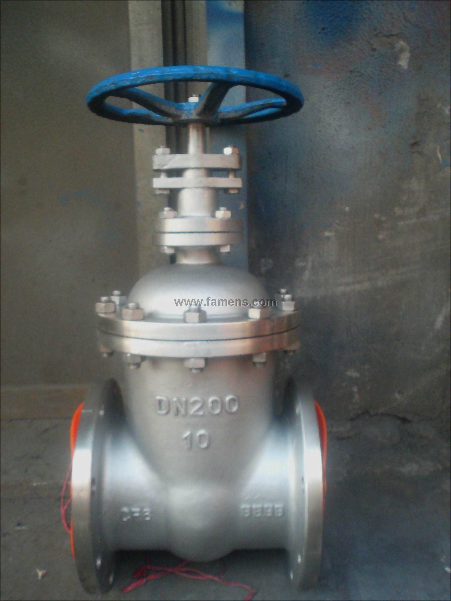 不锈钢暗杆闸阀Z45W-10