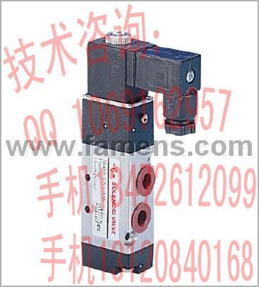 供应强实CS气动阀CS-521-08-AC220V(或DC24V)型两位五通先导式系列