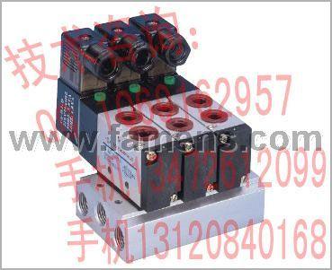 供应强实CS气动阀MF-521-08-AC220V-3型两位五通先导式系列