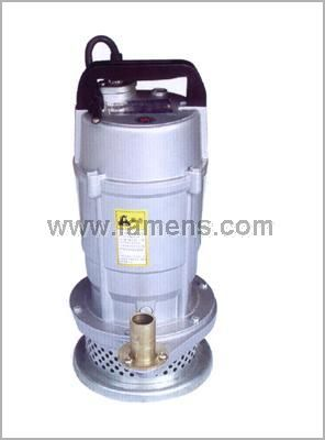 供应山东济南QX单相 三相异步电动机潜水泵