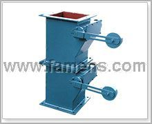 翻板阀|重锤式翻板阀|双层翻板卸灰阀-中能优质出厂