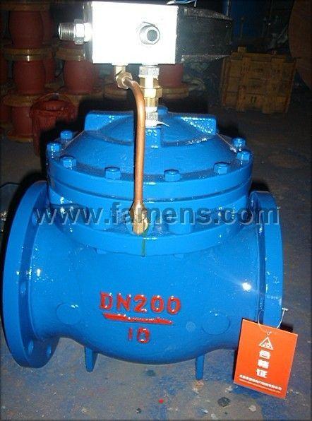 J841X系列电磁液(气)动隔膜排泥阀