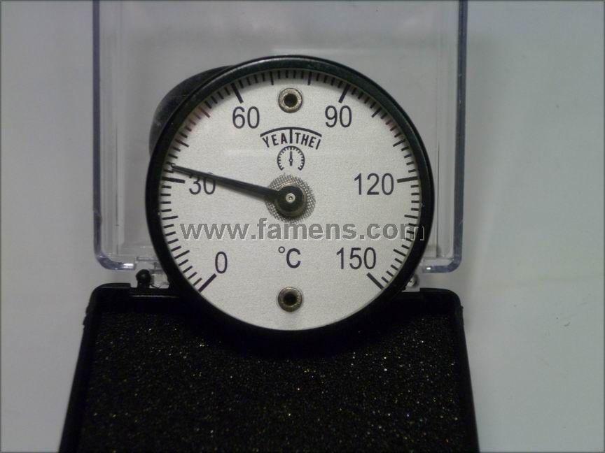 40MM磁铁温度计50MM磁铁表面温度计 60MM磁铁表面温度计