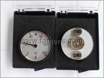50MM磁铁温度计 磨具温度计