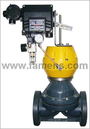 气动调节型PVC隔膜阀