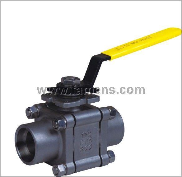 Q11F三片式承插焊球阀