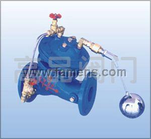 水力浮球阀