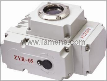 ZYR-05 开度信号型 电动执行器