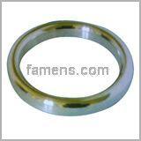 橢圓形金屬環