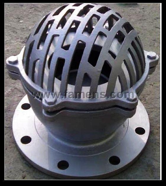 H42铸钢、铸铁底阀