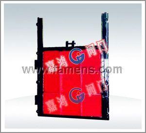 鑄鐵鑲銅方形閘門