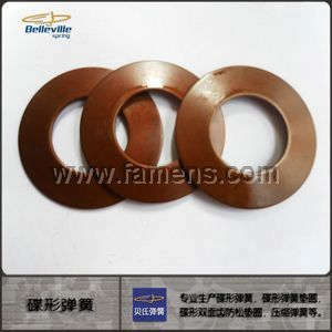 高質量60Si2MnA 國標碟形彈簧
