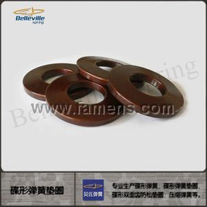 供應 高品質 DIN6796 碟形彈簧墊圈