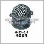 H42X-2.5法兰底阀
