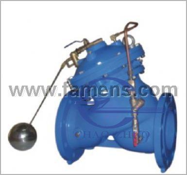 F745X遥控浮球阀,电动遥控球阀具体参数生产