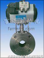 Q671F-16C超薄型氣動對夾球閥
