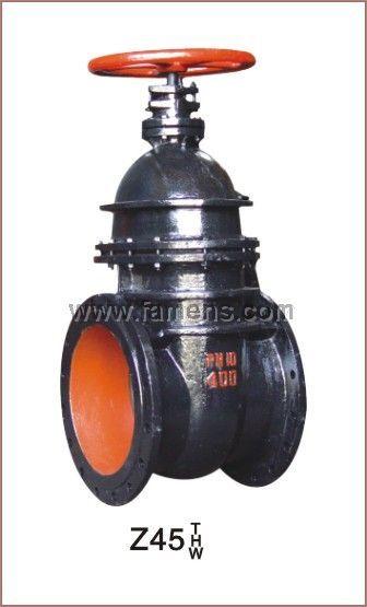 优质Z45T暗杆楔式铸铁闸阀