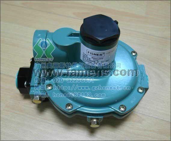 美國費希爾(FISHER)R622-DFF天然氣減壓閥