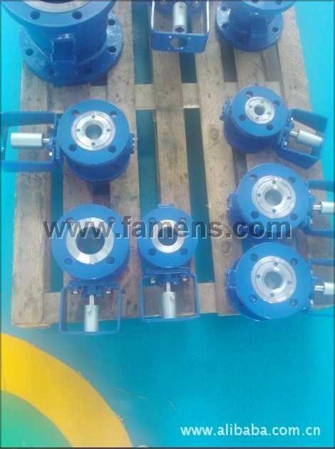 氣動V型球閥 氣動調節球閥 硅溶膠V型球閥海盾閥門