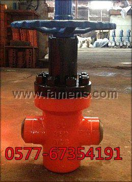 ZF63Y-250高压焊接平板闸阀