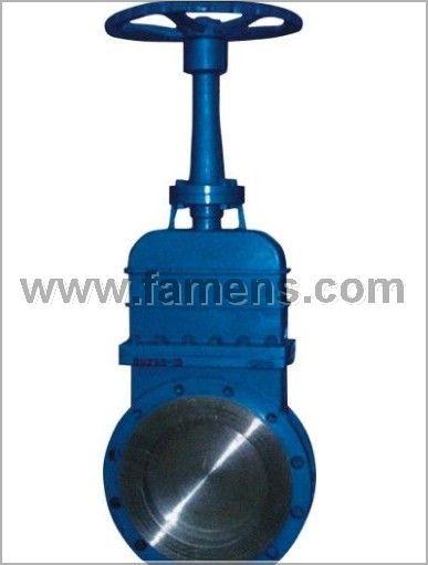 厂家专业生产DMZ73X燃气专用刀闸阀 DMZ73X煤气刀闸阀