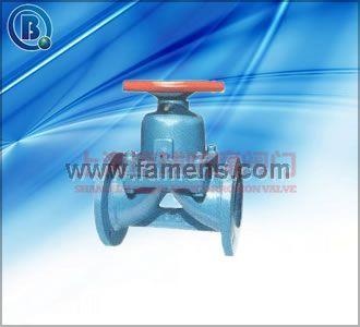 搪瓷隔膜阀 G41C搪瓷隔膜阀
