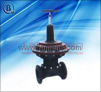 英标气动(常开式)隔膜阀
