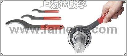 HN0-HN22鉤型扳手,HN0-HN22減少螺母損壞的風險,根據DIN 1804標準制造的螺母都適用HN0-HN22鉤型扳手