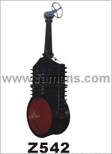 厂家供应Z542W煤气闸阀、铸铁低压阀门 伞齿轮煤气闸阀