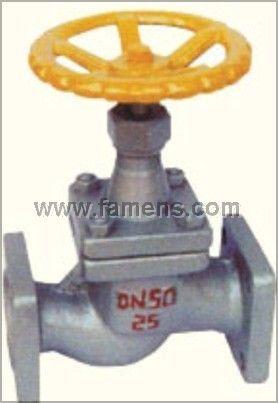 J41B方形法兰氨用截止阀