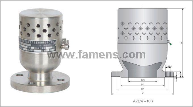 TFA72W真空負壓安全閥