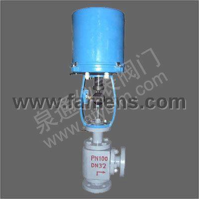 ZDLS型电子式电动高压角形(单级、多级)调节阀