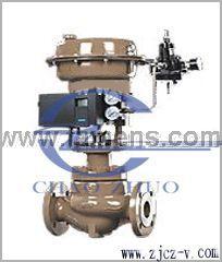 HCBW型气动波纹管笼式双座调节阀