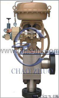 HAC型氣動薄膜高壓角型調節閥